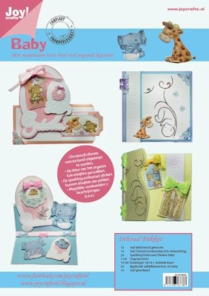Joy! crafts - Kaartenpakket - No. 05 - Baby - 9100/0005
