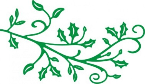 Cheery Lynn Design - Die - Holly Flourish