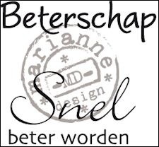 Marianne Design - Clearstamp - Beterschap - CS0894