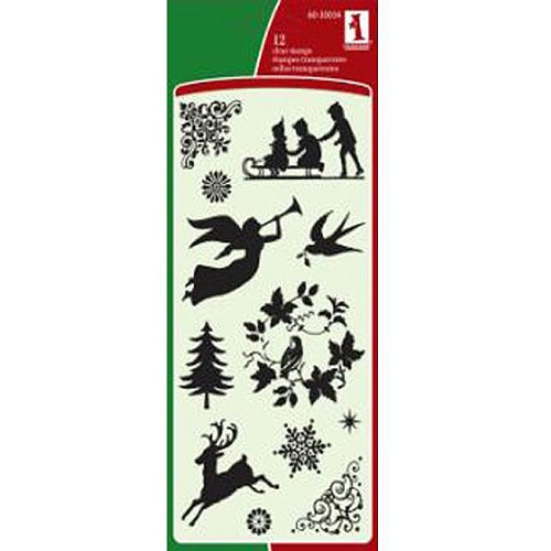 Inkadinkado - Clearstamp - Holiday Silhouettes - 60-30034