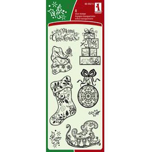Inkadinkado - Clearstamp - Filigree Holiday Patterns - 60-30215