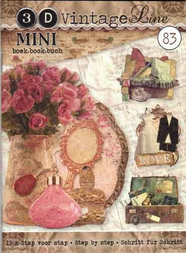 Studio Light - Mini boek - 3D Vintage Line - BOEKMINI83