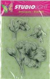 Studio Light - Clearstamp - Bloemen - STAMPSL54