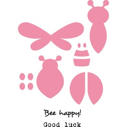 Marianne Design - Die - Collectables - Bee & ladybird (set) - COL1356