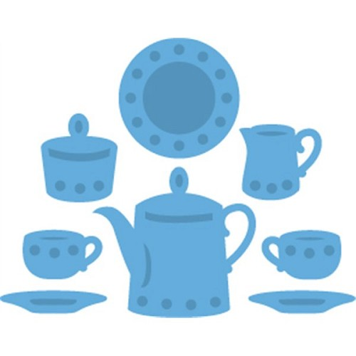 Marianne Design - Die - CreaTables - Tea for two - LR0315