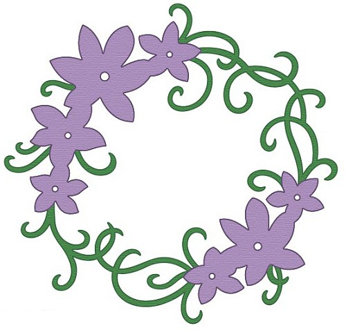 Crafts-Too - Die - Cutting & Embossing - Flower ornament - CTDI7081