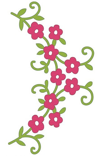 Crafts-Too - Die - Cutting & Embossing - Flowers - CTDI7083