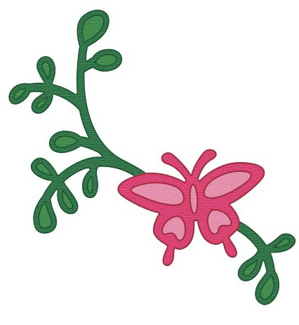Crafts-Too - Die - Cutting & Embossing - Butterfly Garden - CTDI7088