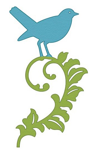 Crafts-Too - Die - Cutting & Embossing - Bird Garden - CTDI7091