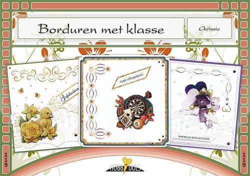 Card Deco - Hobbydols - No. 119 - Borduren met klasse