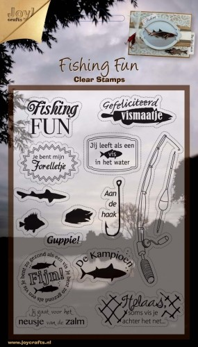 Joy! crafts - Clearstamp - Fishing Fun - 6410/0303