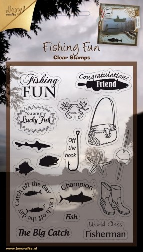 Joy! crafts - Clearstamp - Fishing Fun - 6410/0304