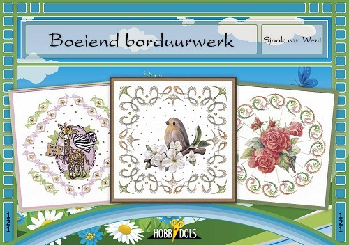 Card Deco - Hobbydols - No. 121 - Boeiend borduurwerk
