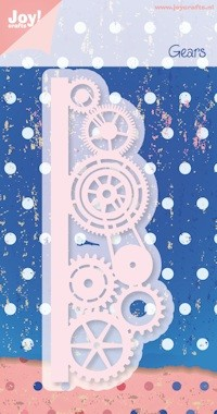 Joy! crafts - Noor! Design - Die - Gears - 6002/0288
