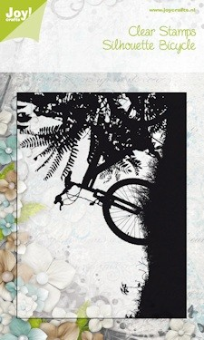 Joy! crafts - Noor! Design - Clearstamp - Bicycle on sunset - 6410/0092