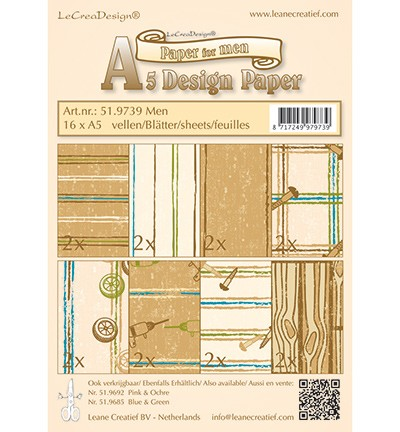 Leane Creatief - Paperpack - Paper for Men - 51.9739