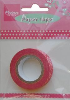 Marianne Design - Paper tape - Sweet dots - PT2315