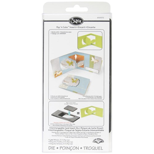 Sizzix - Die - Pop `n Cuts - Label Window 3D
