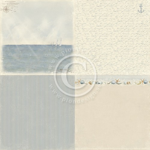 Pion Design - Shoreline Treasures - Sailing - PD4701