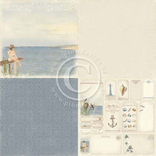 Pion Design - Shoreline Treasures - Warm breeze - PD4704