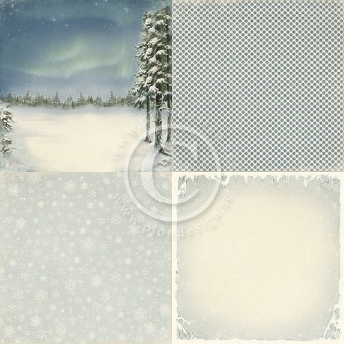 Pion Design - Wintertime in Swedish Lapland - Northern lights - PD3904
