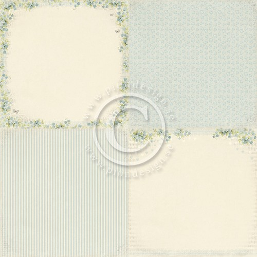 Pion Design - Sweet Baby - Blue forget me not - PD4105