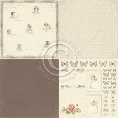 Pion Design - Sweet Baby - Week day prophecies - PD4106