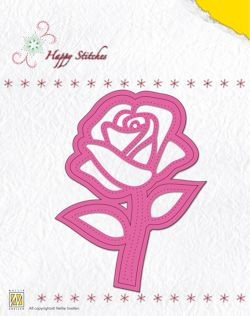 Nellie Snellen - Die - Happystitch - Rose