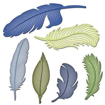 Spellbinders - Die - Shapeabilities - Feathers