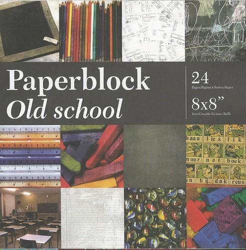 CreaMotion - Paperpack - Old school - BPB310399