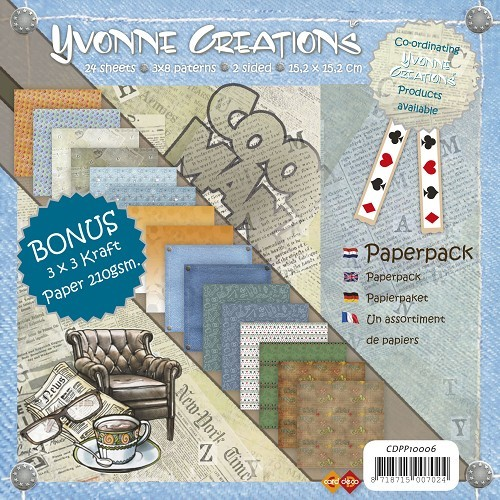 Yvonne Creations - Paperpack - Men - CDPP10006