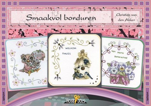 Card Deco - Hobbydols - No. 123 - Smaakvol borduren