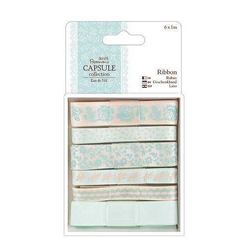 Papermania - Ribbon - Capsule Collection - Eau de Nil - PMA367114