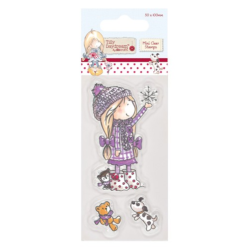 Docrafts - Tilly Daydream - Clearstamp - Snowflake - TIL907103