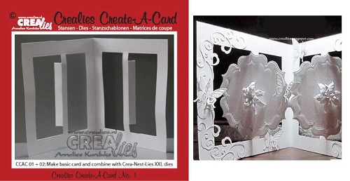 Crealies - Die - Create-A-Card - No. 01 - CCAC01