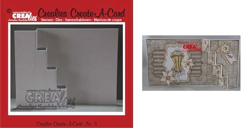 Crealies - Die - Create-A-Card - CCAC03
