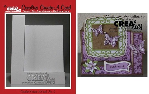 Crealies - Die - Create-A-Card - CCAC05