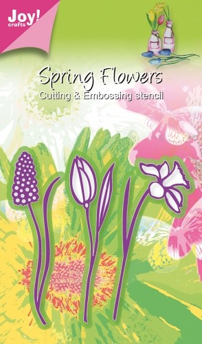 Joy! crafts - Die - Spring Flowers - 3 bloemen