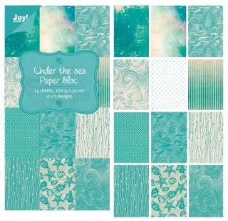 Joy! crafts - Noor! Design - Paperpack - Under the sea - 6011/0307