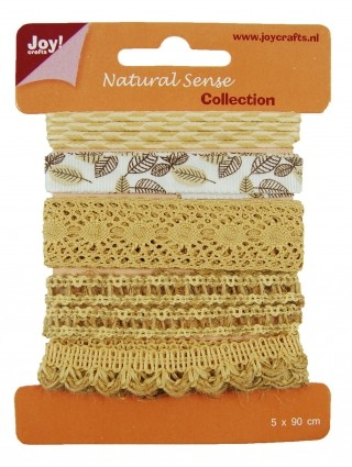Joy! crafts - Ribbon - Natural sense - Collection 1 - set 2 - 6300/0321