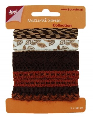 Joy! crafts - Ribbon - Natural sense - Collection 1 - set 4 - 6300/0323