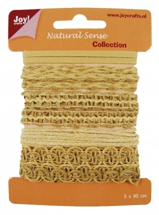 Joy! crafts - Ribbon - Natural sense - Collection 2 - set 2 - 6300/0325