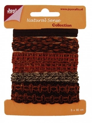 Joy! crafts - Ribbon - Natural sense - Collection 2 - set 4 - 6300/0327