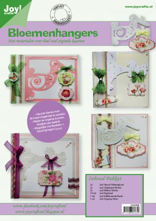 Joy! crafts - Kaartenpakket - No. 08 - Bloemhangers - 9100/0008