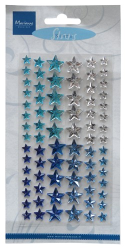 Marianne Design - Parels & strass - Decoration stars - Winter - CA3112