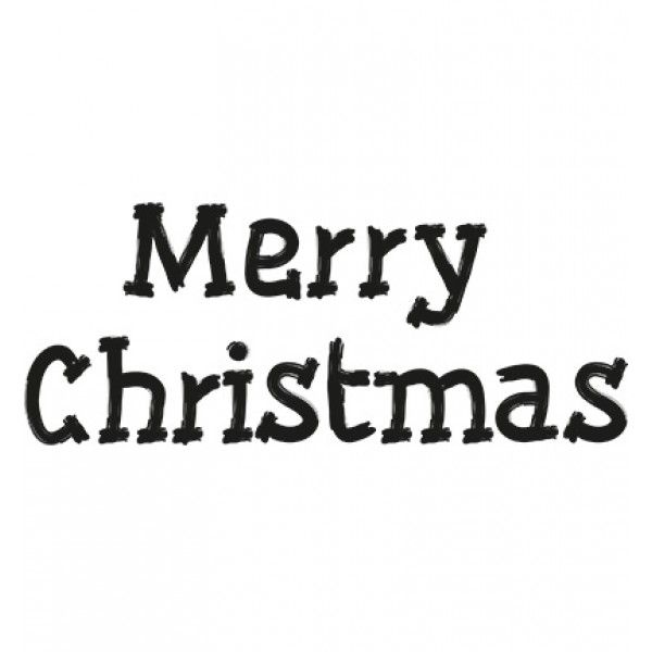 Marianne Design - Clearstamp - Merry Christmas - CS0896