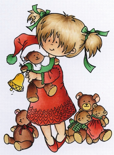 Marianne Design - Hetty Meeuwsen - Clearstamp - Hugging bears - HM9467