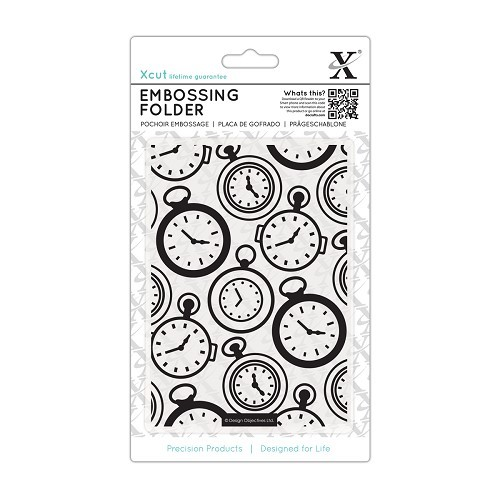 Xcut - Embossingfolder - Pocket watch - XCU515137