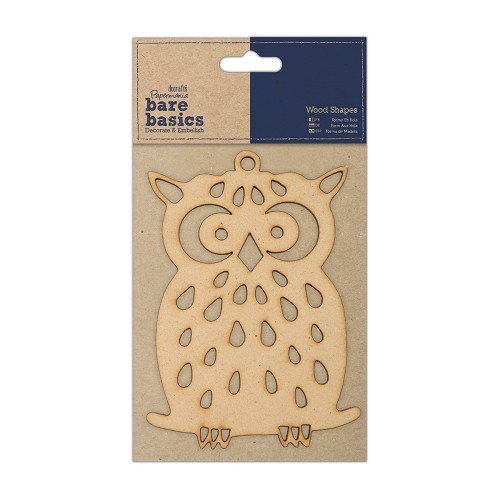 Papermania - Bare Basics - Owl - PMA174607