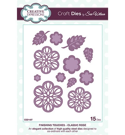 Creative Expressions - Die - The Finishing Touches Collection - Classic Rose